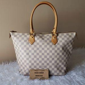 Authentic Louis Vuitton Saleya MM